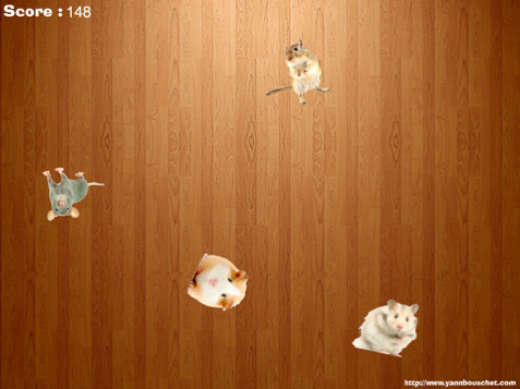 MouseMasher jeu iPad pour chats